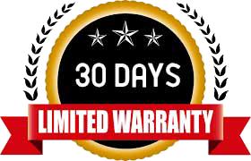 30 days limited warranty